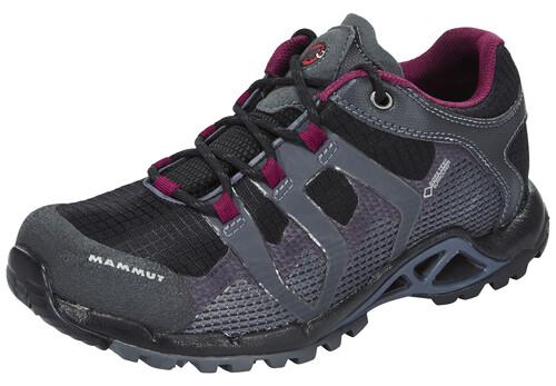 Mammut Comfort Low GTX Surround Shoes Women black-graphite 40 2/3 2016 Trekking- & Wanderschuhe IiLtvdk